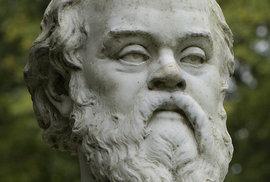 Socha Sokrata