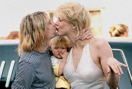 Courtney Love a její osudový muž Kurt Cobain