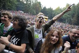 Návštěvníci trutnovského hudebního festivalu Trutnoff
