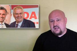 Fanoušek prezidenta a zemanleaks: Jak chtěl Hrad gratulovat k vítězství rakouského…