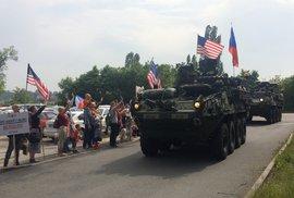 US Army, vítej! Vítej opět v Praze!