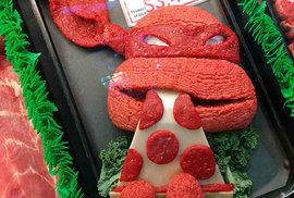 Valentýnské okurky, biobumerangy i kuřata bez kostí. To vše kreativní obchody mají