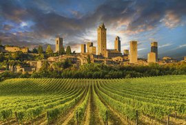 Florencie, Siena, Volterra a San Gimignano: Toskánské krásky, které si vás podmaní