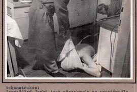 Trest smrti unás platil až doroku 1990. Doté doby bylo vČeskoslovensku, pomineme-li období protektorátu, popraveno celkem 1217 lidí, ztoho necelá pětina zakriminální trestné činy (730 osob bylo popraveno zaretribuční a240 zapolitické trestné činy). Zavraždu skončilo napopravišti pouze pět žen. Tou první se stala vroce 1953 Zdenka Mizerovská. Smilencem zabila svého snoubence, rozsekala ho nakousky aostatky hodila dopotoka…