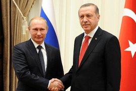 Erdogan se omluvil Rusům za sestřelení letadla a sbližuje se s Izraelem