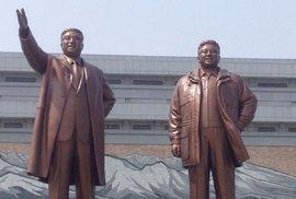 Severní Korea si pozvala amatérské běžce a předvedla jim své krásy.