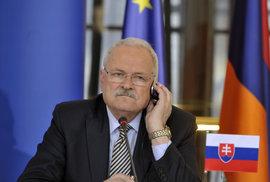 Slovenský exprezident Gašparovič trpí rakovinou, podstupuje léčbu