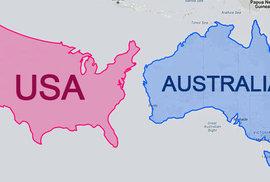 Jak velké je skutečně Rusko? Mapy, po jejichž zhlédnutí budete opravdu překvapeni