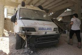 Nálety v Sýrii zničily nemocnici Lékařů bez hranic ve chvíli, kdy přijímala raněné
