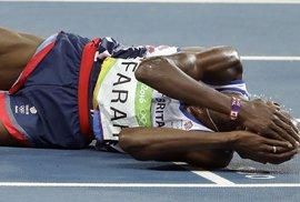 Mo Farah dokázal zvítězit, i když se pro něj závod nevyvíjel vůbec dobře
