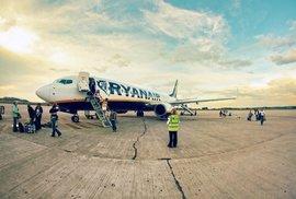 Aerolinky Ryanair zveřejnily seznam zrušených letů. Je mezi nimi i Praha