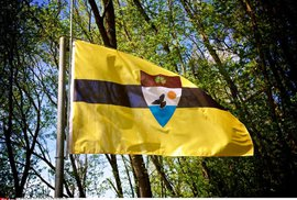Oficiální vlajka státu Liberland