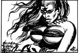Octobriana - nejsvobodnější komiksová postava