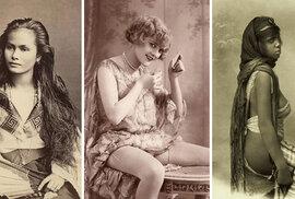 Jedinečné pohlednice: Krásky z různých koutů světa na sto let starých snímcích