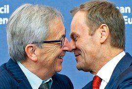 Evropa obměnila lídry. V čele Evropské komise stanul Jean-Claude Juncker (vlevo), prezidentem se stal Donald Tusk