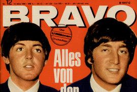 Před 60 lety vyšlo první číslo legendárního časopisu Bravo