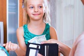 V jakém věku začít dávat dětem kapesné? A v jaké výši?