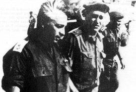 Generál Šaron během Šestidenní války v roce 1967