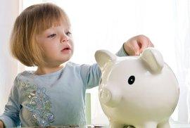 Jak na kapesné dětem? Díky kapesnému se dítě naučí hospodařit a vy nakonec můžete i ušetřit