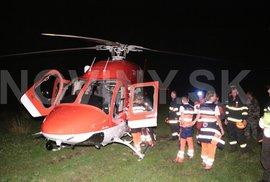 Pád vrtulníku na Slovensku nepřežili čtyři lidé včetně pacienta