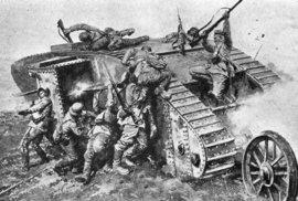 Uplynulo 100 let od prvního bojového nasazení tanků
