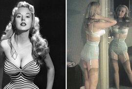 Úplně první supermodelka: Betty Brosmer dobyla svět vosím pasem