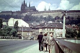 Praha po 2. světové válce: Jak vypadalo hlavní město Československa v roce 1946?