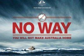 Austrálie zpřísňuje zákon pro uprchlíky: Kdo přijede ilegálně, má doživotní zákaz pobytu
