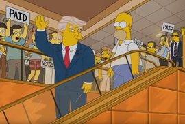 Donalda Trumpa prezidentem předpověděli před 16 lety Simpsonovi
