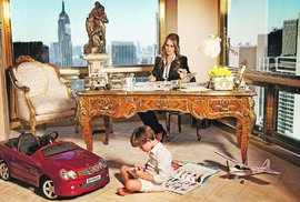 Melania Trump v luxusním bytě v newyorské Trump Tower