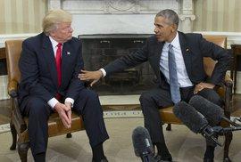 Trump obvinil Obamu z odposlechů jeho kanceláře před volbami. Důkazy nepředložil