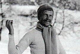 """Legendární """"syn hor"""" i oběť jejich drsné tváře. Před 130 lety se narodil lyžař Bohumil Hanč"""
