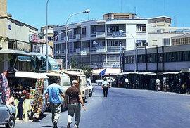Kyperská Famagusta před a po turecké invazi