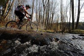 Cyklotrasa Šumava - zpestření ve vodě