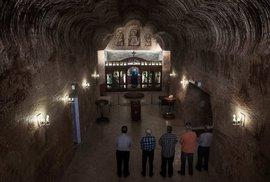 Podzemní městečko Coober Pedy: Kostel