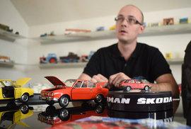 O automobilové miniautury z Česka je zájem po celém světě. Jak vznikají?