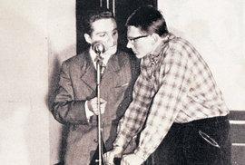 Polotrapno, večerem provázejí Petr Zuna a Miloslav Šimek (vpravo)