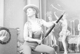 Herečka, zpěvačka a tanečnice Debbie Reynoldsová