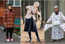 Modelkou v sedmdesáti? Ruské babičky boří stereotypy o stáří
