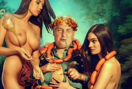 Karel Steigerwald: Nechoďte mu tam, není to recepce republiky, nýbrž jeho