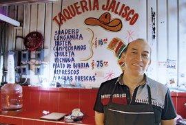 Eduardo vyrábí tacos už 20 let