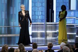 Osminásobná držitelka Zlatého glóbu Meryl Streepová