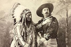 Buffalo Bill Evropanům ukazoval pohádky o Divokém Západě, svou show s Indiány předvedl…