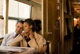 Obama pronesl velkolepý projev na rozloučenou. Když mluvil o své žene, dojal se k slzám