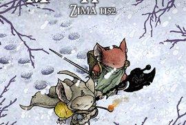 O myších a… myších: Komiks Myší hlídka je pěkně syrovej