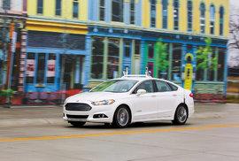 Autonomní automobil od Fordu