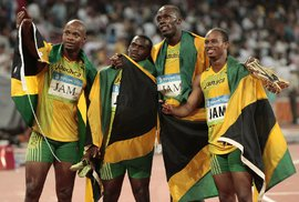 Jamajská štafeta přišla o zlato z Pekingu kvůli dopingu Nesty Cartera
