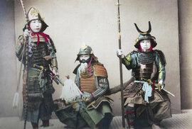 Samurajové - respekt a hrůzu budící válečníci a válečnice