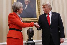 Theresa Mayová ve Washingtonu. Nová kapitola zvláštního vztahu mezi Spojenými státy a…