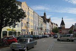Náměstí v Braunau am Inn